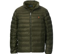 Earth Daunenjacke Dark Loden