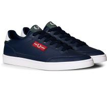 Deuce Ledersneaker Carbon Blue
