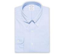 Regent Fit Non Iron Oxfordhemd Light Blue