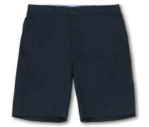 Baumwoll Bermuda Shorts Navy