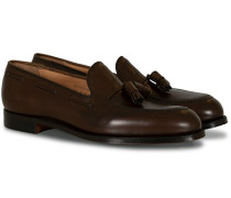 Cavendish Tassel Loafer Dark Brown Calf
