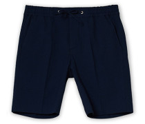 Sebastian Seersucker Drawstring Shorts Navy