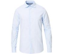 Soft Bastoncino Baumwollhemd Light Blue