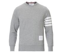 4 Bar Loopback Sweatshirt Light Grey