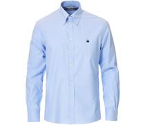 Milano Fit Non Iron Buttondownhemd Light Blue