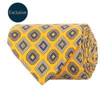 MTO Silk 8 cm Krawatte Yellow