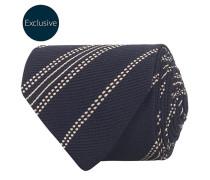 MTO Silk 8 cm Krawatte Navy