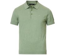 Ridge Baumwoll/Silk Polo Sage Green