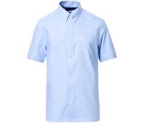 Classic Oxford Kurzarm Hemd Light Blue