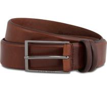 Carmello Ledergürtel 3,5 cm Medium Brown