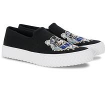 Slip-on Canvas Sneaker Black