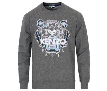 Tiger Classic Sweatshirt Grey Melange