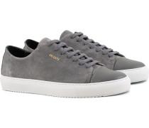 Cap Toe Sneaker Dark Grey Suede