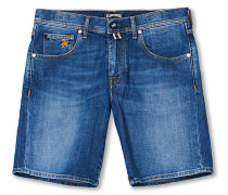 Jeansshorts Mid Blue
