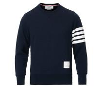 4 Bar Loopback Sweatshirt Navy