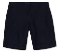 Crown Leinenshorts Navy