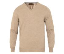 Merino V- Neck Pullover