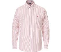 Regent Fit Non Iron Sport Buttondownhemd Red