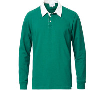 Ruben Longsleeve Rugby Polo Sporting Green