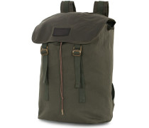 Rugged Twill Ranger Rucksack Otter Green Canvas