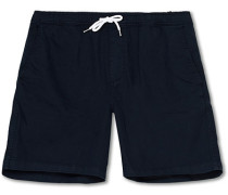 Gregor Drawstring Shorts Navy