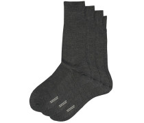 3-Pack Naish Merino/Nylon Socke Charcoal
