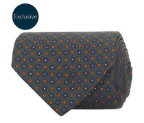 MTO Silk 8 cm Krawatte Green