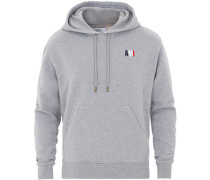 Logo Hoodie Heather Grey