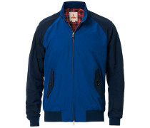 G9 Harrington Colour Block Jacke Blue/Navy