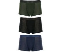 3-Pack Boxer Boxershort Black/Army Green/Navy