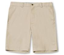Baumwoll Bermuda Shorts Khaki