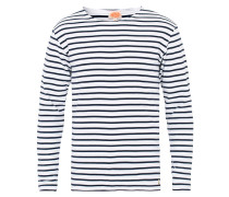 Houat Héritage Stripe Longsleeve T-shirt White/Navy