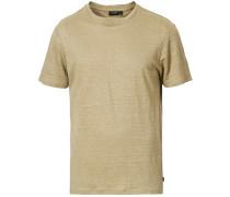 Coma Clean Leinen Tshirt Green