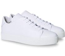 Classic Leder Grain Sneaker White