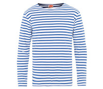Houat Héritage Stripe Longsleeve T-shirt White/Blue