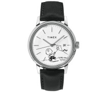 Marlin Automatic Charlie Brown Black/White Dial