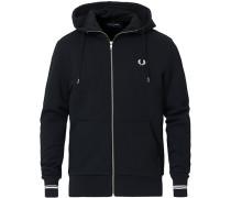 Hooded Zip Sweatshirt Navy