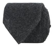 Cashmere 8 cm Krawatte Grey/Black