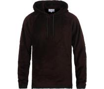 Tycho Hood Fleece Mulberry Red