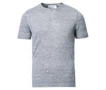 Rundhals Leinen Tshirt Grey