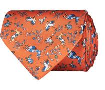 Silk Printed Animals 8 cm Krawatte
