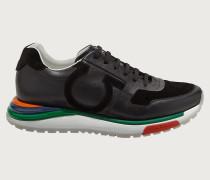 Rainbow Running Sneaker