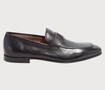 Loafer with signature