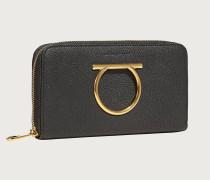 Gancini Brieftasche mit Rundum Reißverschluss