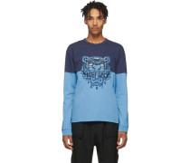 Colorblock Tiger Sweatshirt