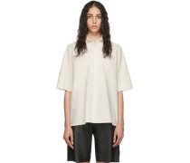 Off-White Wool Pierre Shirt