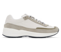 White and Grey Tshirtnage Mary Sneaker
