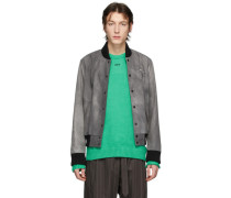 Grey Airport Tape Collegejacke