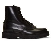 Leather Pierced Punk Stiefel