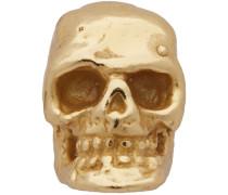 Single Tiny Skull Ohrstecker